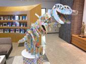 恐竜ディスプレイ