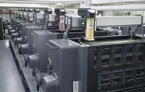カラー印刷機